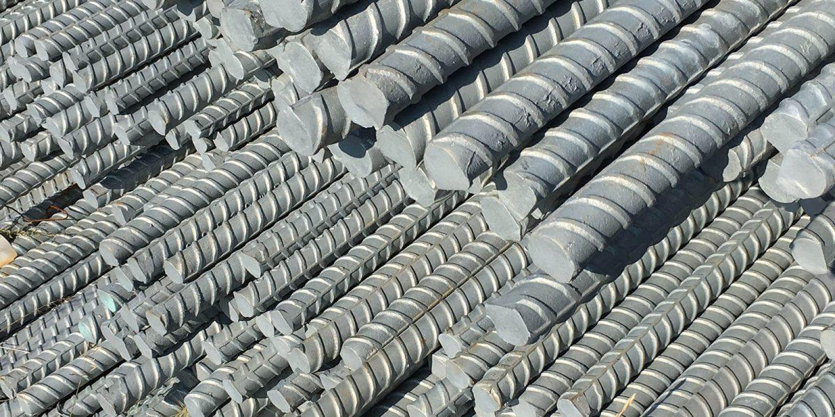 Barres d'acier