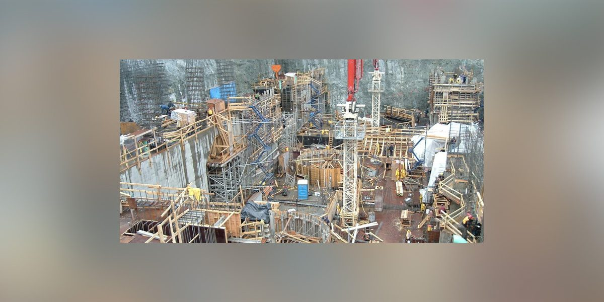 Centrale Hydroélectrique Eastmain